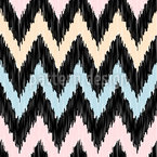 Modern Zig Zag Seamless Vector Pattern Design