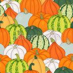 Pumpkin Party Vector Ornament