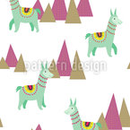 Lama Repeat Pattern