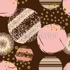 Circle Textures Seamless Vector Pattern Design