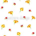 Flatternder Schmetterling Rapportmuster
