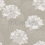 Come Rosy Come Seamless Vector Pattern Design