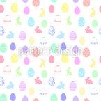 イースターエッグの シームレスなベクトルパターン設計