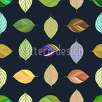 Leaf Elegance Seamless Pattern