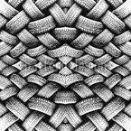 Pilha de pneus Artsy Design de padrão vetorial sem costura