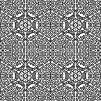 Konturen Labyrinth Rapportmuster
