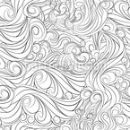 Rough Ocean Seamless Vector Pattern Design