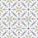 Чувашская стихия Бесшовный дизайн векторных узоров