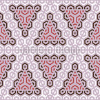 Triangular decoration Repeat Pattern