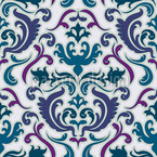 Bon Apart Blau Nahtloses Vektormuster