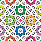 Schönes Gitter Vektor Muster