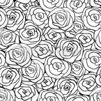 Full Of Roses Repeating Pattern