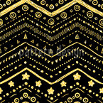 Brilliant arranged shapes Seamless Pattern