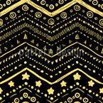 Glänzend Angeordnete Formen Nahtloses Muster
