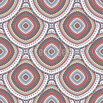 Beautiful Boho Seamless Vector Pattern Design