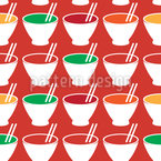 Simple Soups Seamless Vector Pattern Design