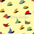 Aparas de papel Design de padrão vetorial sem costura