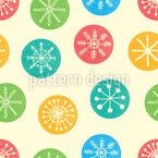 Snowflake Coin Pattern Design