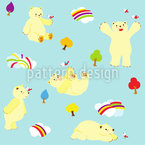 Lovely Polar Bear Design Pattern