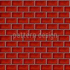 Wall Of Bricks Seamless Vector Pattern Design