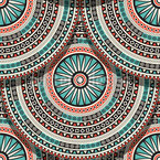 Endless Mandala Repeating Pattern