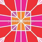 モザイク作品 シームレスなベクトルパターン設計