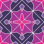 Diamantblüten Mosaik Musterdesign
