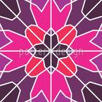 Erstarrte Blüte Designmuster