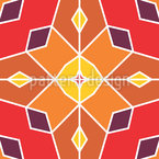 Estrelas Torcendo Design de padrão vetorial sem costura