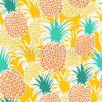 Sonnen-Obst Und Ananassaft Muster Design