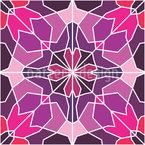 Berechnete Blüte Musterdesign