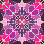 Calculated Flower Pattern Design