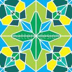 Gefrorenes Kaleidoskop Designmuster