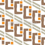 Expressionistic Window Seamless Vector Pattern