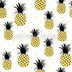 Verliebte Ananas Rapportmuster
