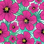 Hibiscus Flower Pattern Design
