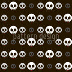 Ghosts out of Darkness Seamless Vector Pattern Design