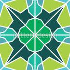 Bizantino Moderno Design de padrão vetorial sem costura