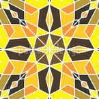 Arabische Fliesen Designmuster