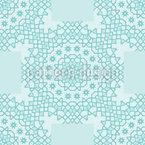 Dezente Schönheit Vektor Muster