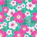 Hawaiian Holidays Seamless Pattern
