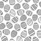 Easter egg Vector Pattern