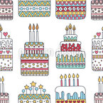 The cakeshop Seamless Vector Pattern Design