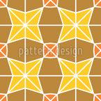 Azulejo árabe moderno Design de padrão vetorial sem costura