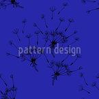 Fliegende Pusteblumen Nahtloses Vektor Muster
