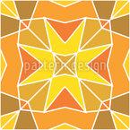 Modern Moorish tiles Repeating Pattern