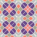 Mosaico Árabe Moderno Design de padrão vetorial sem costura