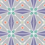 Inlay árabe Design de padrão vetorial sem costura