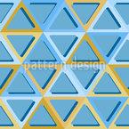 Dreiecke Mit Abgerundeten Ecken Nahtloses Muster