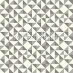 Geometrisches Patchwork Mit Dreiecken Nahtloses Vektormuster